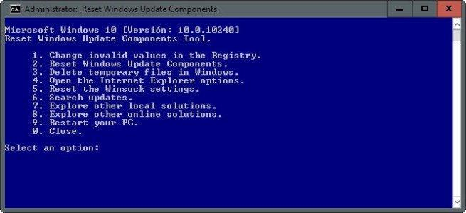 Reparar los componentes de Windows Update 655x299